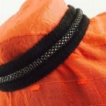 Black Zipper Choker